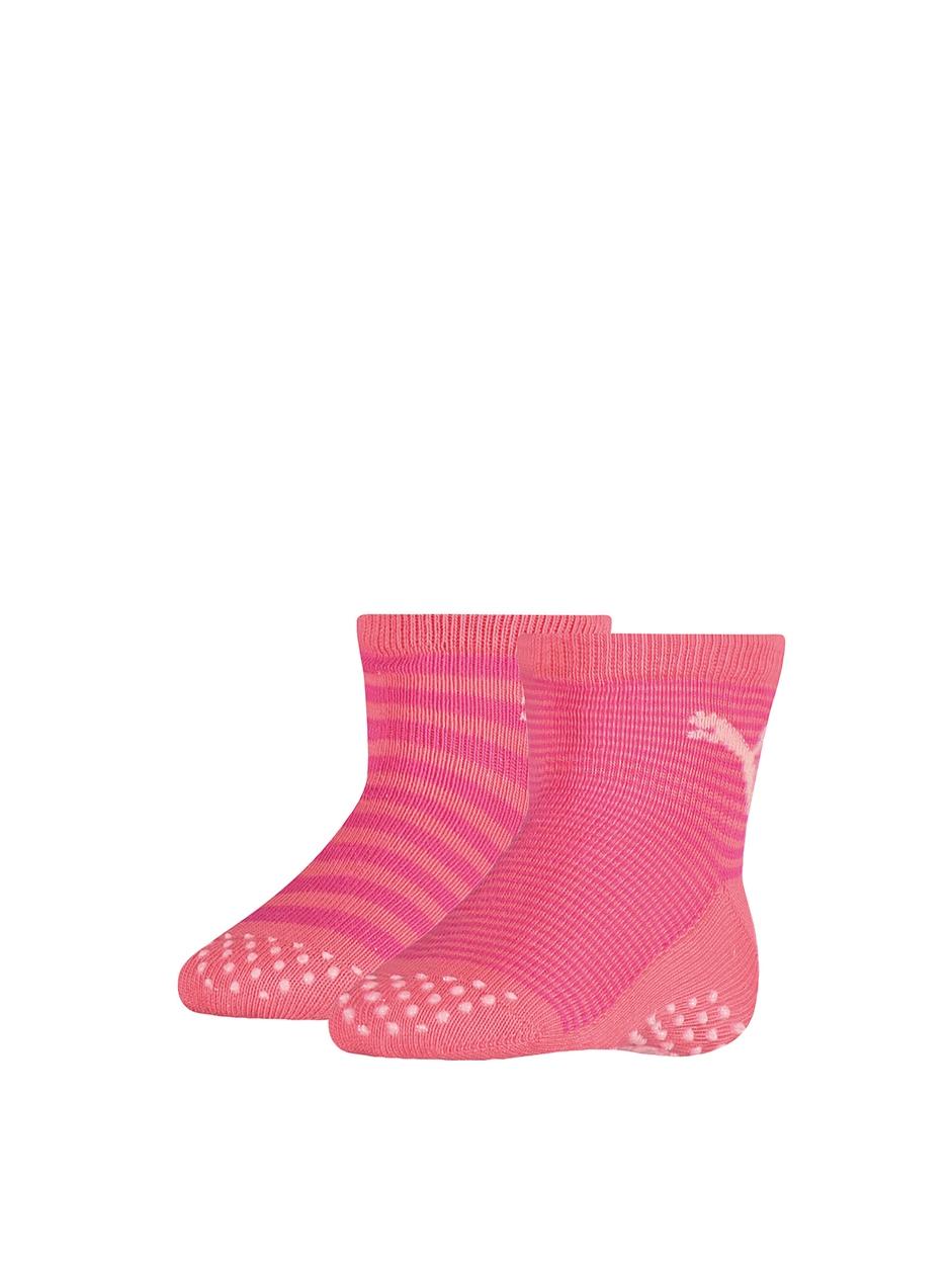 a4f944921cf Puma | Anti-slip Stripe Baby Sneaker 2-Pack | Babysokken - 265002001 puma