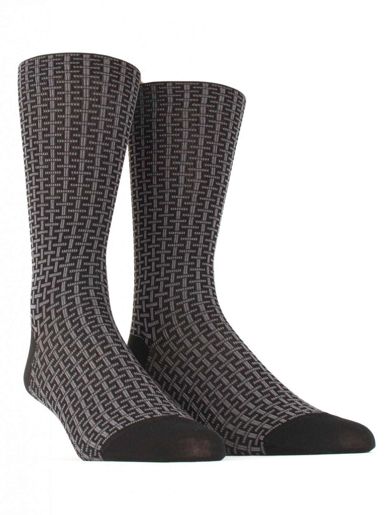 Fil d'Ecosse Bord Elastique Sock