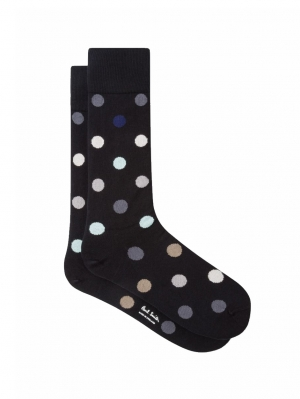 Teacup Polka Sock