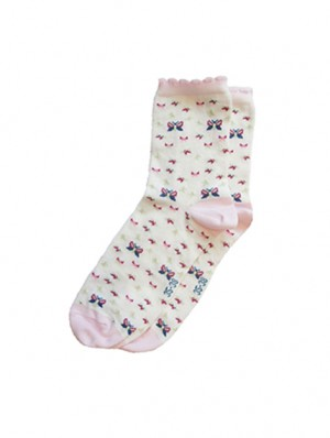 Butterfly Color Sock
