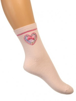 Sweet Heart Sock