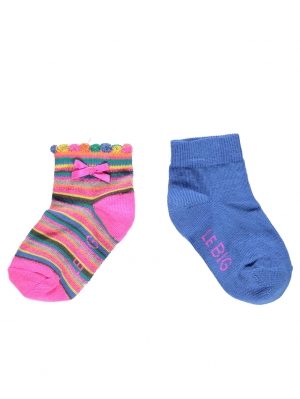Striped Short Sock 2-Pack