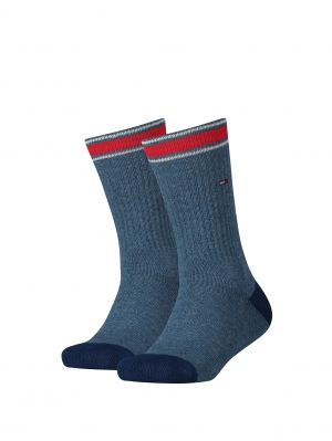 Kids Iconic Sports Sock 2 pack