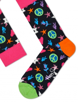 Peace And Love Socks