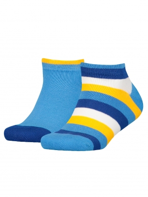 2 Pack Kids Basic Stripe Quarter
