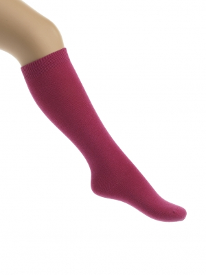 Soft Elastic Cotton Knee High